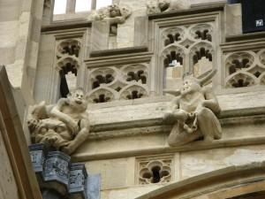 Gargoyles at Windsor Castle