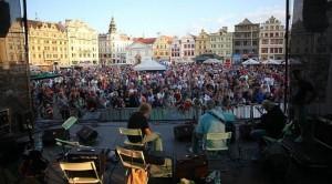 Historic hub of Pilzen in the Czech Republic