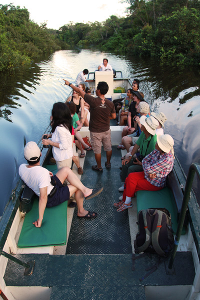 Wildlife expeditions on the Amazon with G Adventures