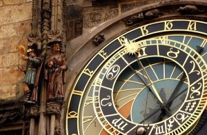 Prague's iconic Astronomical Clock was built by Master Hanuš in 1410.
