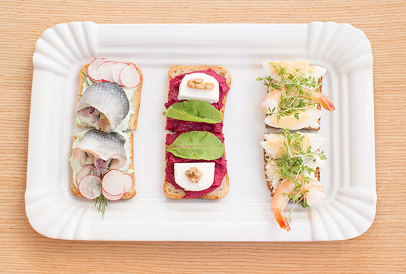 Prague's famous open-faced sandwiches on a culinary walking tour