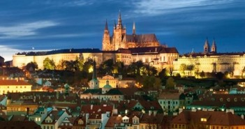 Prague Castle city view