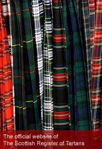 Find your own clan's tartan on the Scottish Register of Tartans