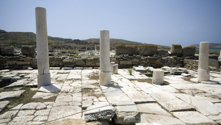 Delos on a Greek Islands Yacht Cruise