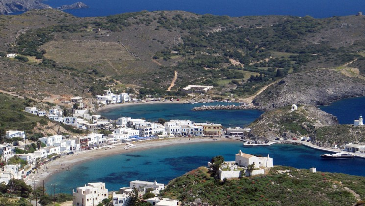Island of Kythira on a Greek Islands Yacht Cruise