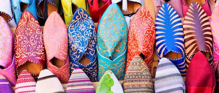 Shopping in a Moroccan Medina