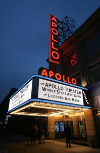 Historic Apollo Theater in New York's Harlem Neighborhood