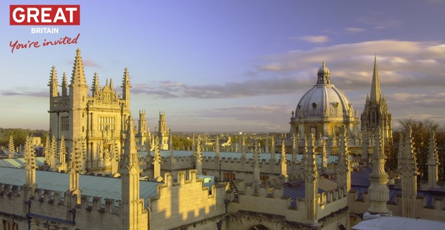 Oxford City View
