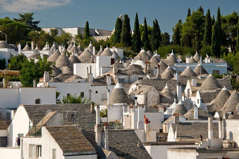 UNESCO World Heritage site of Alberobello