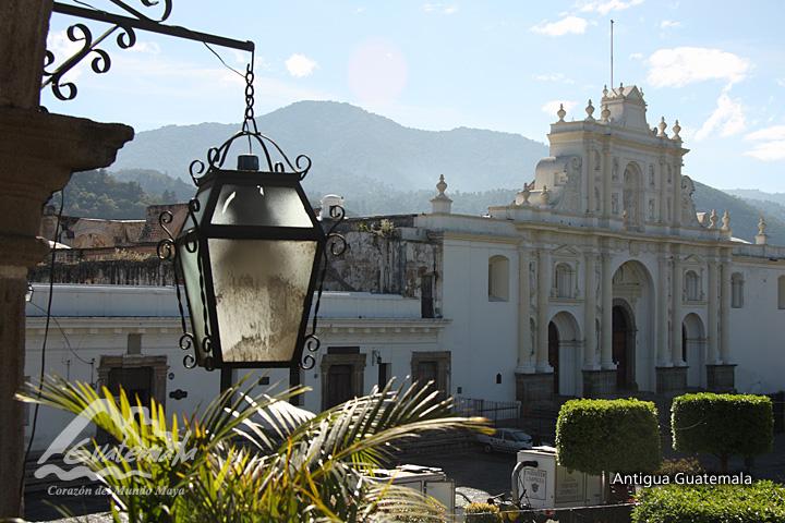 Spanish Baroque city of Antigua