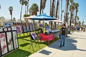 Art show in Santa Barbara