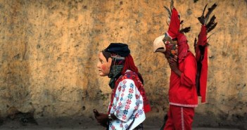 Mayan Costumes Near Antigua
