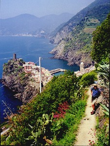 Michael Capp on Le Cinque Terre Trail