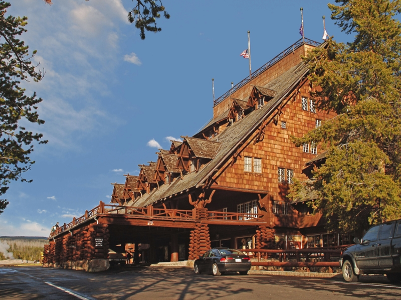 Yellowstone history tours deep culture travel for Hotels yellowstone national park