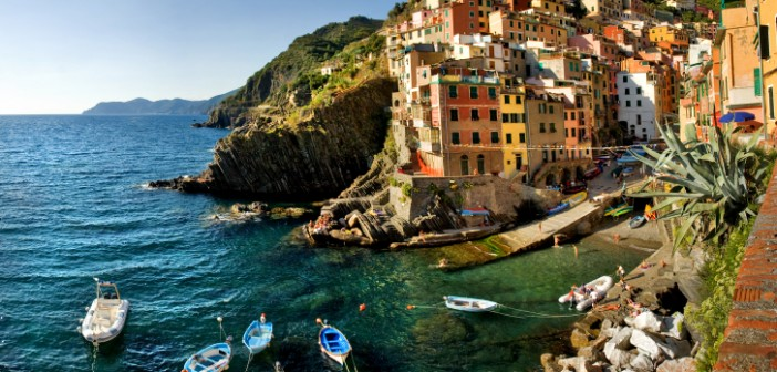 Riomaggiore, one of the picturesque towns of the Cinque Terre