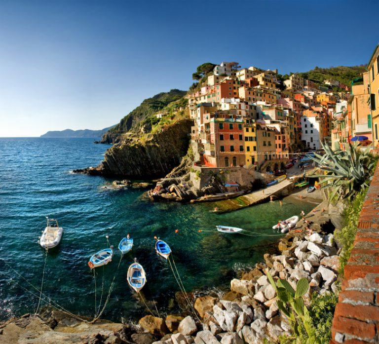Riomaggiore, one of the picturesque towns of the Cinque Terre
