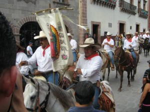 Independencia Parade in San Miguel De Allende