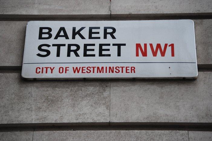 Baker Street in London