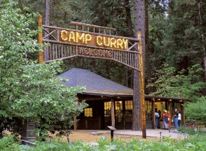 Curry Village in Yosemite Natiinal Park
