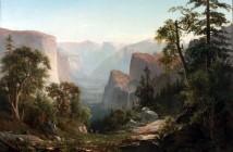 View of the Yosemite Valley, 1865, by Thomas Hill.