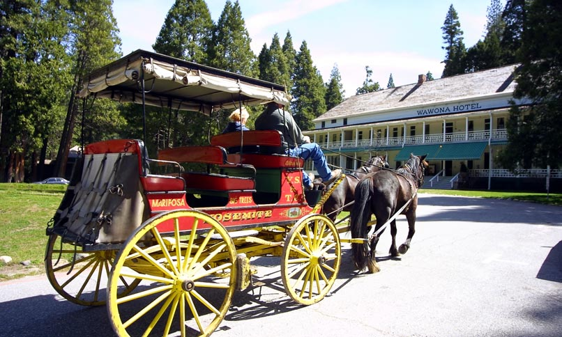Wawona Hotel in Yosemite National Park,