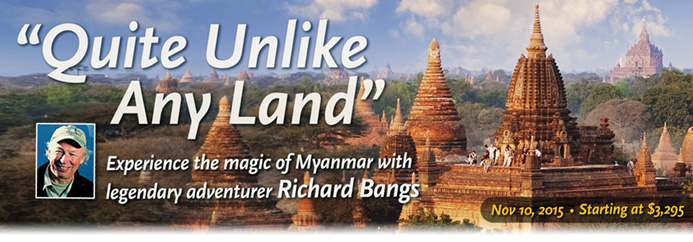 Discovering Burma