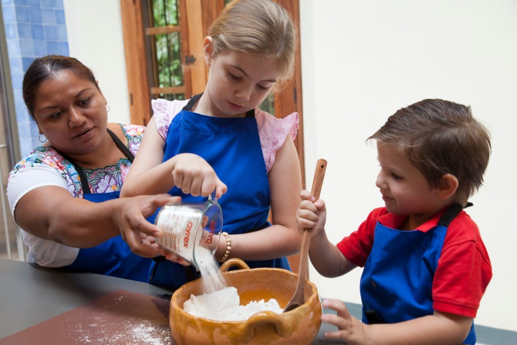 Kids Cook at Hacienda Petac