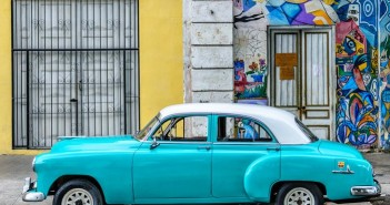 Fabulous vintage autos in Havana!