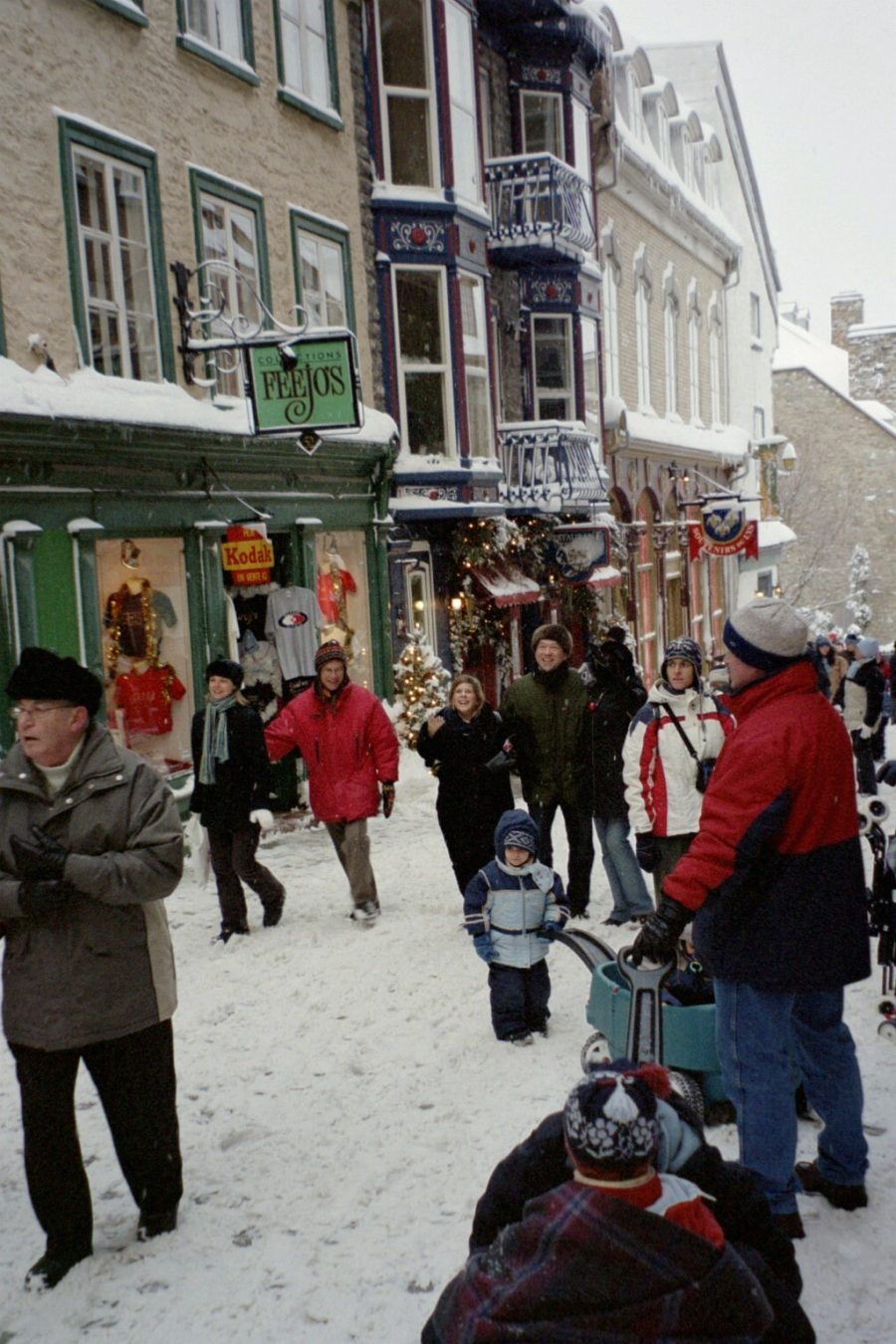 Families in Quebec City