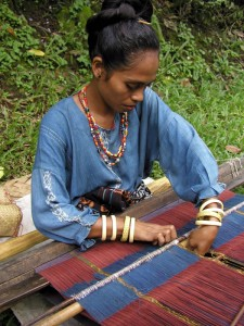 Watublapi weaver, East Flores