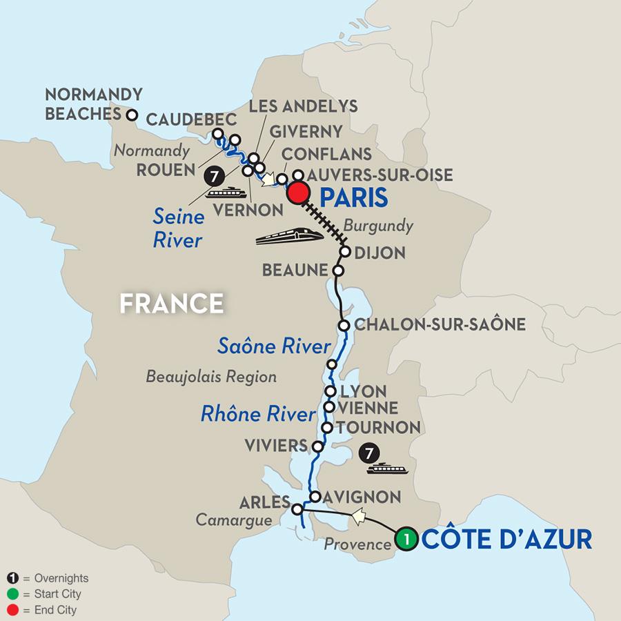 5 Star Luxury River Cruises Through Eurooe: Four Cultural River Cruises