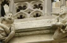 Gargoyles in Bath, England