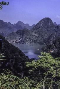Lake view in Dalat, Vietnam