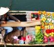 Cai Be floating market, Vietnam