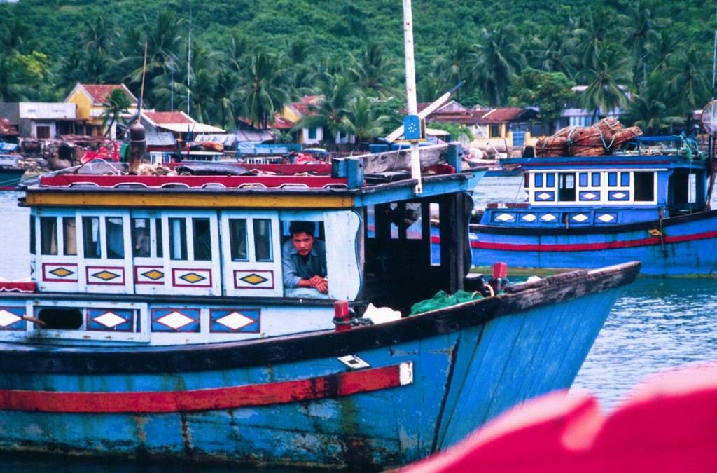 """""""Dragon boats"""" are popular for cruises out of Nha Trang"""