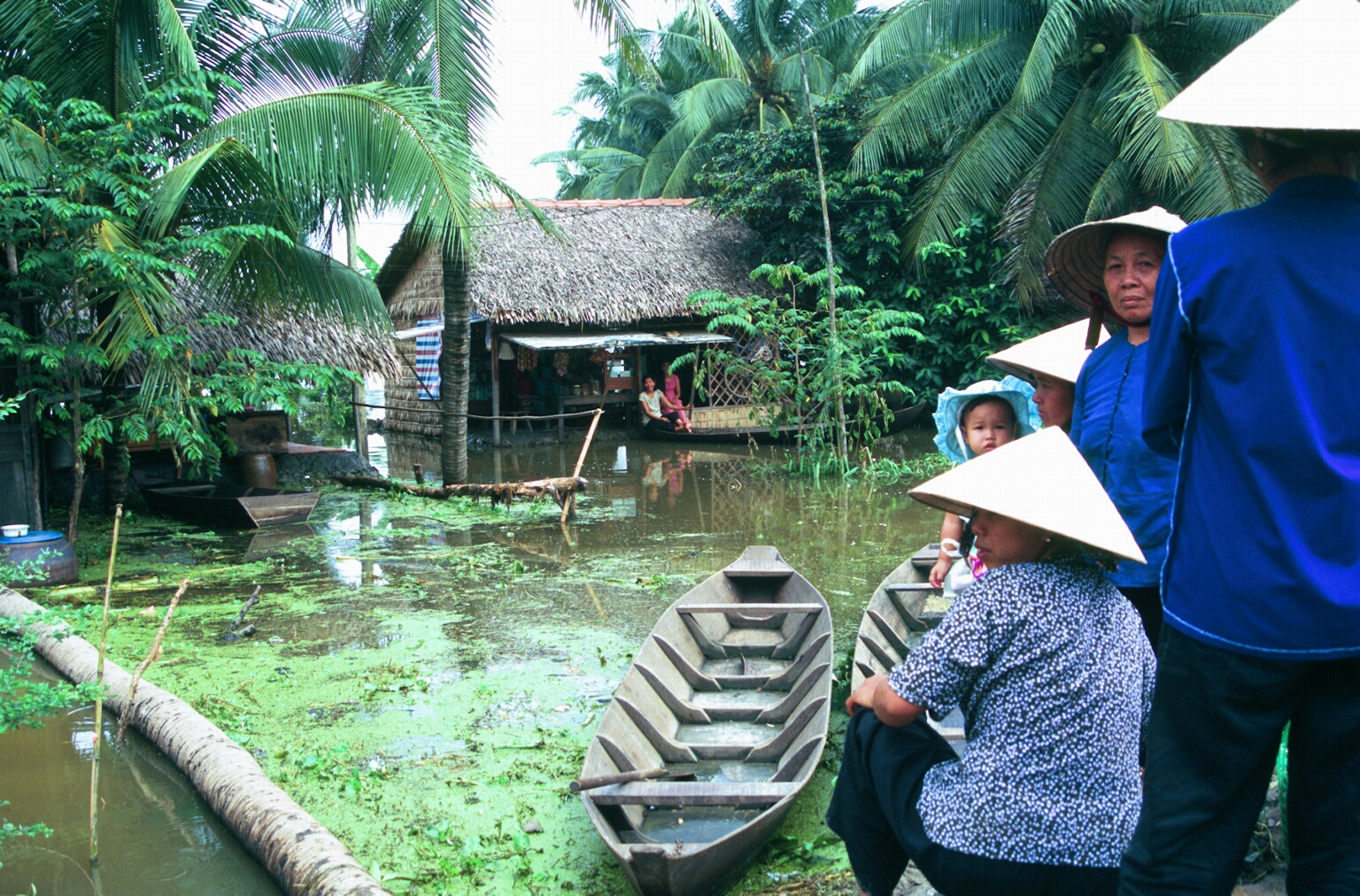 Flooding in the Mekong Delta