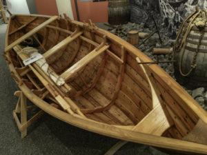 Traditional faering river boat, Reykjavik
