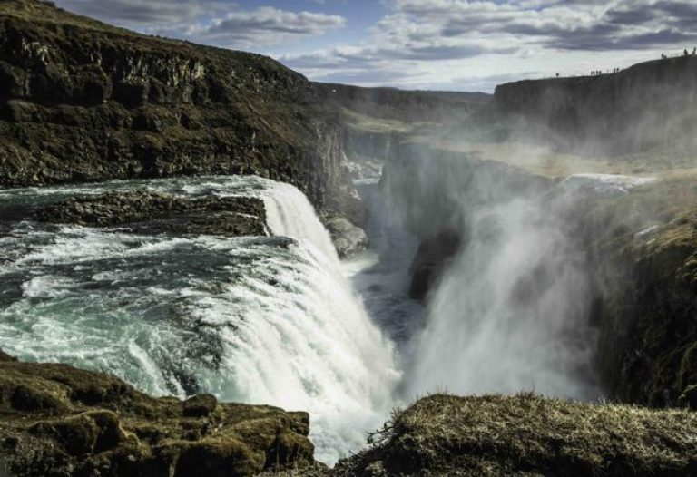 Gulfoss Rift waterfall, Iceland