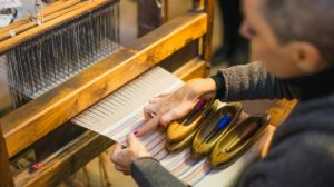Weavers in Perugia on Insight Vacations tour
