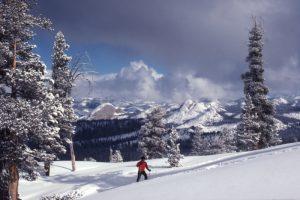 Nordic skiing Yosemite