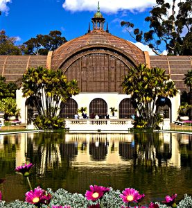 """Botanical Building"" in San Diego's Balboa Park"