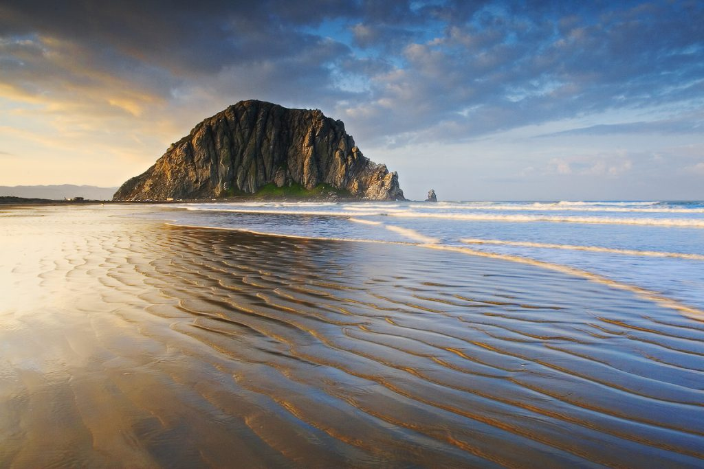 California's version of the Rock of Gibraltar, Morro Rock