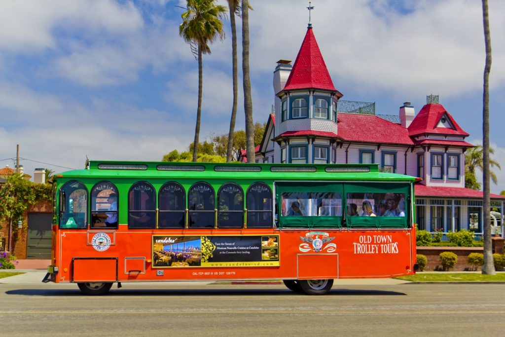 San Diego's Old Town Trolley