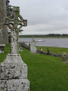 Medieval site of Clonmacnoise o