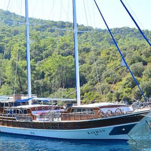 """traditional two-masted """"gulet"""""""