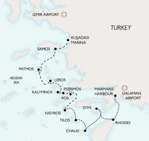 """""""Cruising the Dodecanese"""" with Peter Sommers"""