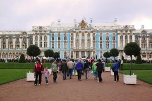 Catherine Palace near St. Petersburg