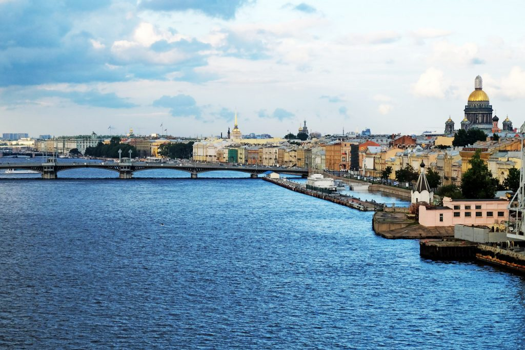 Russian city of St. Petersburg