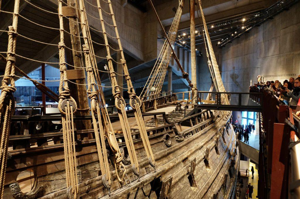 17C Swedish warship Vasa