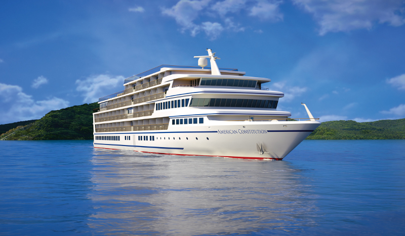 American Cruise Line's new American Constitution